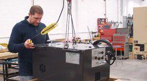 Shipping a nitrogen unit
