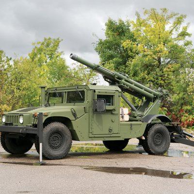 Hawkeye 105mm Artillery System