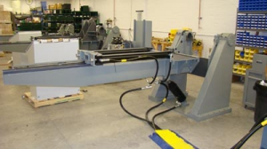 Gymnasticator being used to manufacture Mandus howitzer.