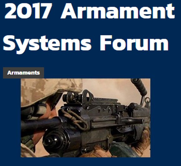 NDIA 2017 Armament Systems Trade Show pic